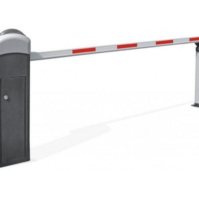 La barrera de acceso automática